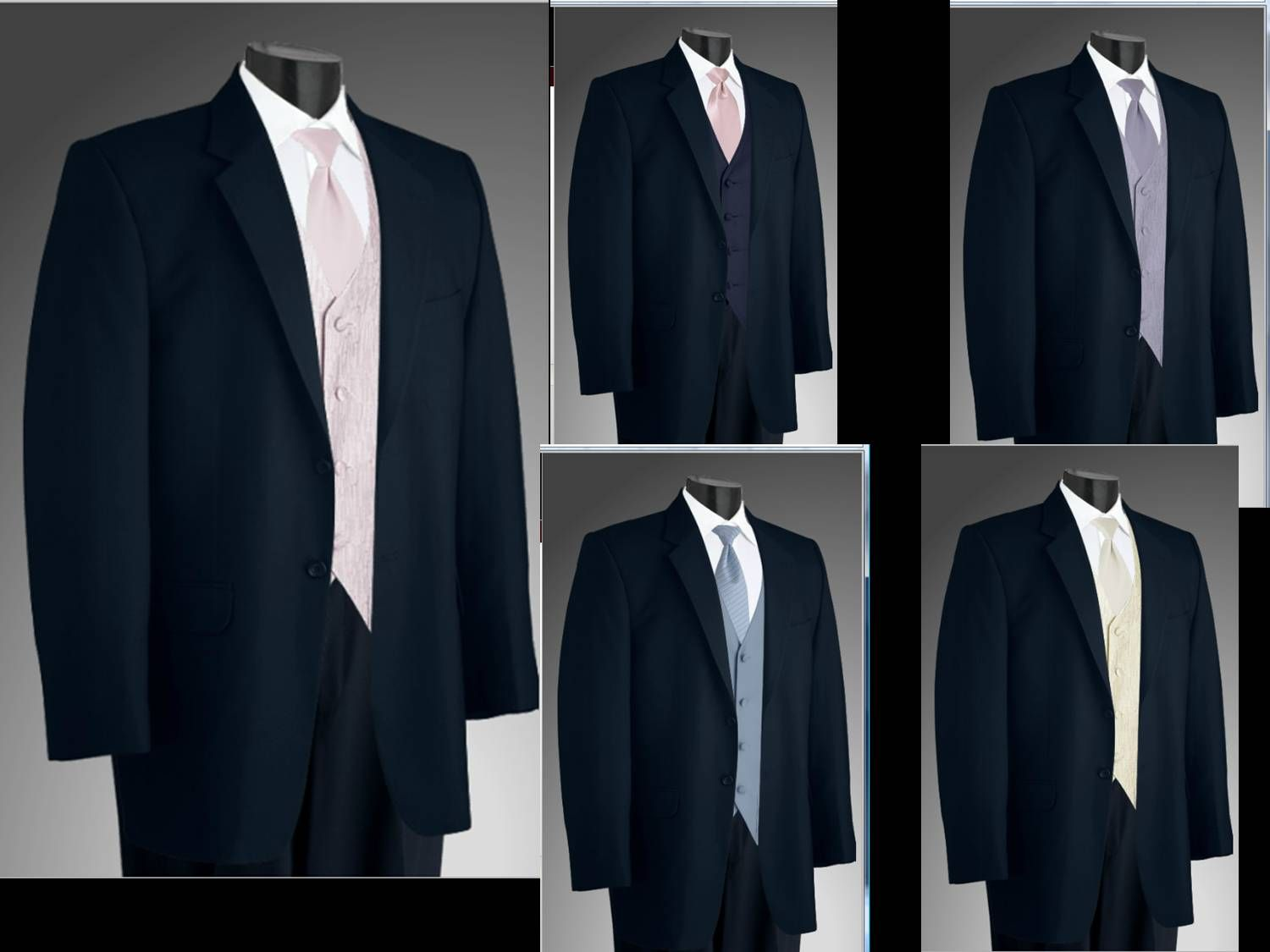 Midnight Blue tux options