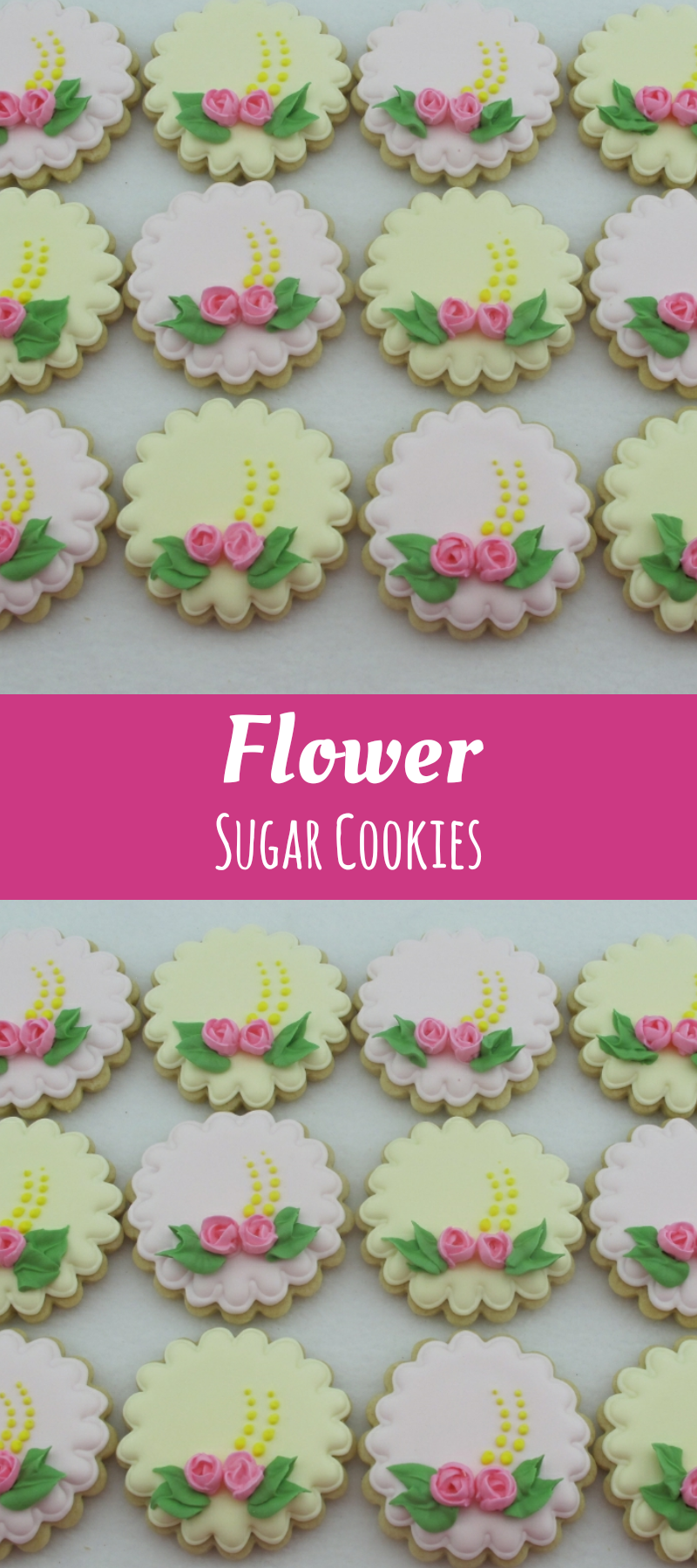 Mother\'s Day Pastel Sugar Cookies, Wedding Shower Anniversary Cookie ...