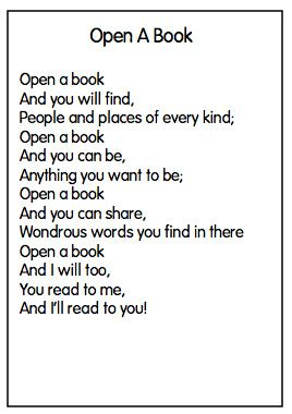 these are all great poems for spring- for shared reading!