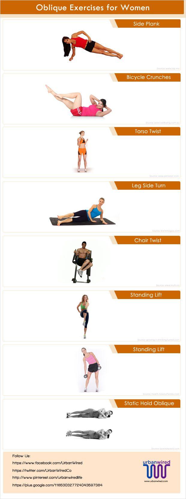 Obliques Exercises Oblique exercises for ...
