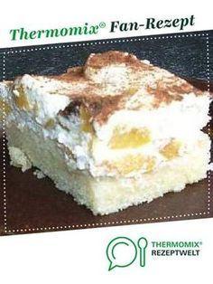 Fantaschnitte mit Pfirsichschmand #peachcake