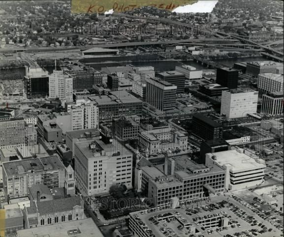 Birds Eye View Of Downtown 1981 With Images Museum Hotel