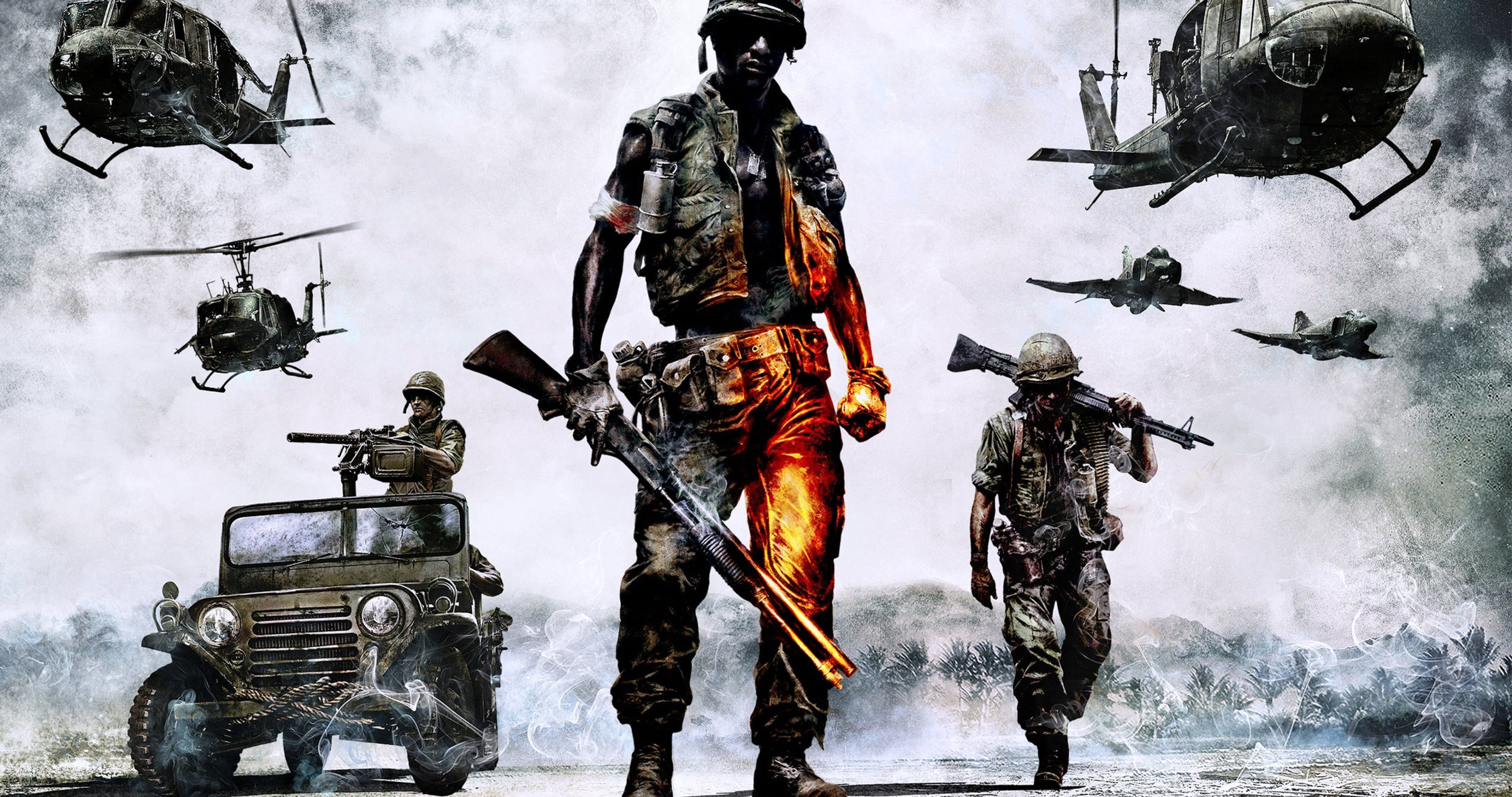 Battlefield 2 Bad Company Vietnam 4k Ultra Hd Wallpaper With