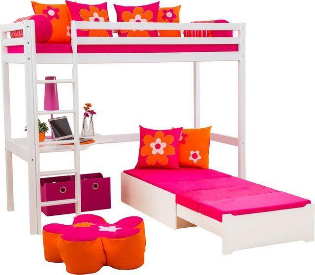 Sofabett, ausziehbar, »Flowerpower« Bett ideen, Betten