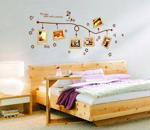 Ufingodecor muro farfalle vite creativo fiore foto adesivi for Decorazioni per pareti soggiorno
