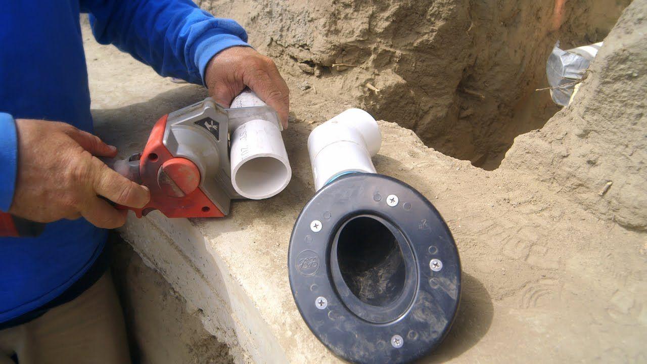 Diy Koi Pond Construction Concrete Pond Return Jet Part 20