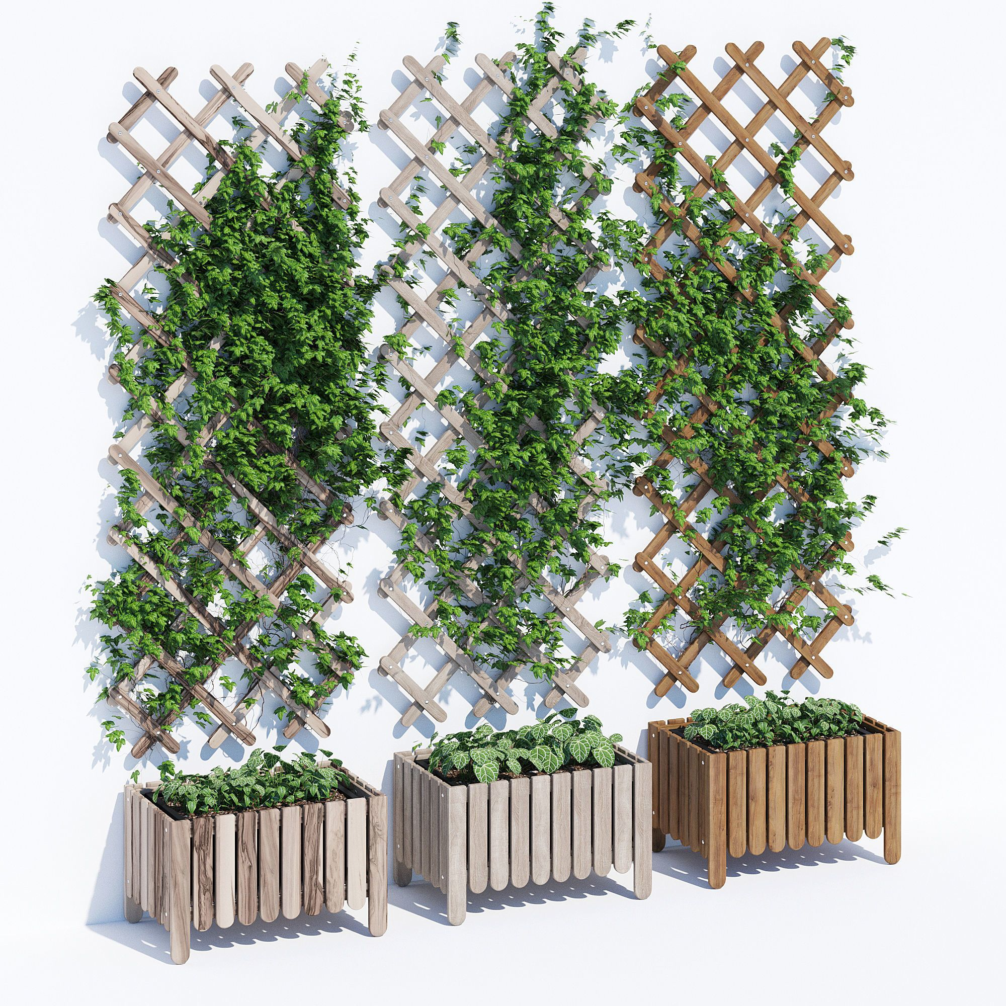 Askholmen  9D model  Plant stands outdoor, Vertical garden