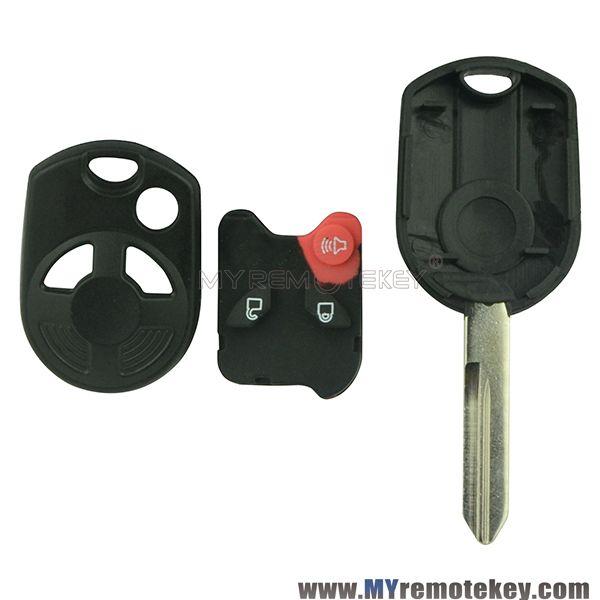 Remote Head Key Shell 3 Button For Ford Edge Escape Flex Fusion