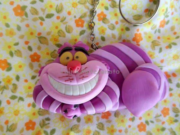 Chaveiro Cheshire Alice No Pais Das Maravilhas Alice No Pais