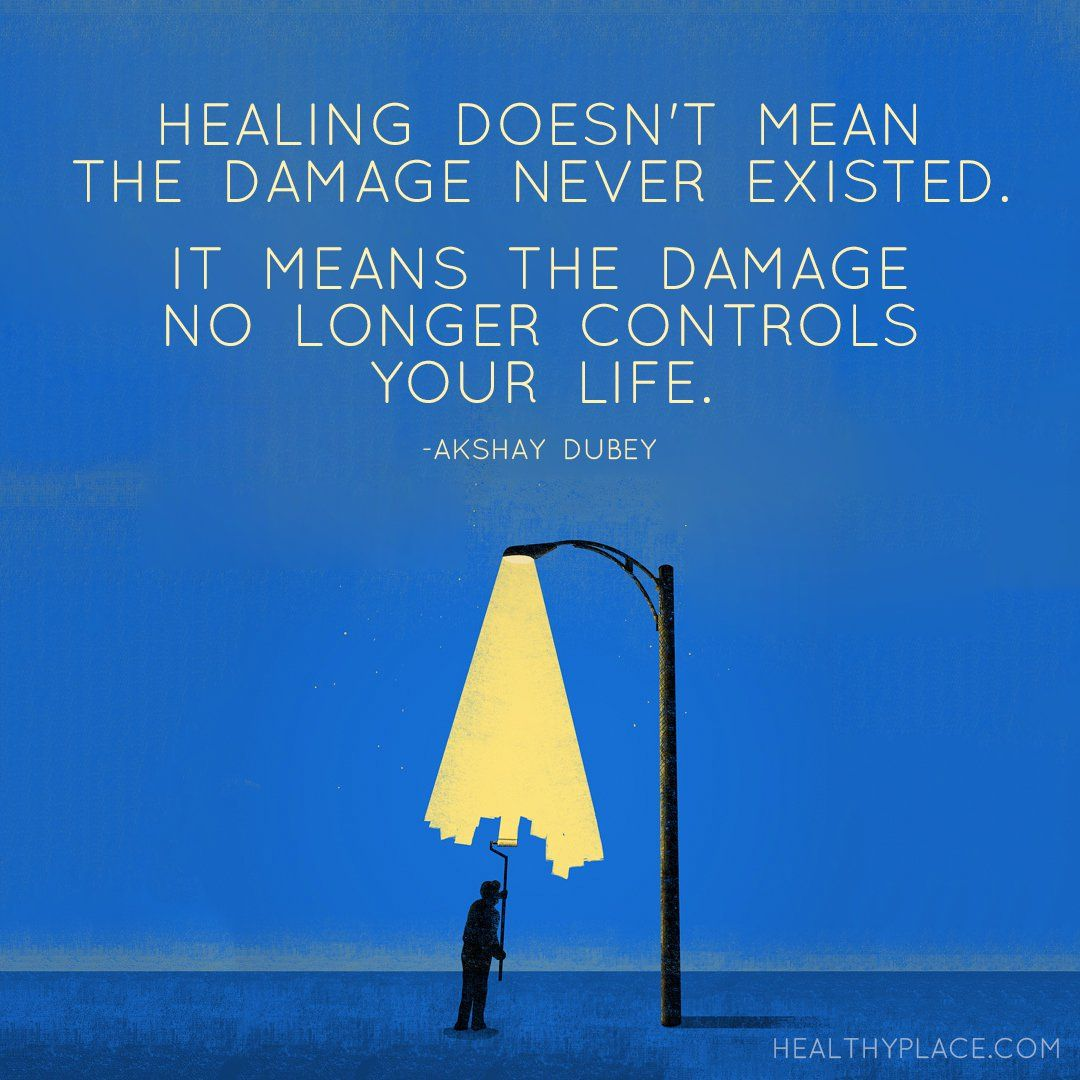 Healing Quotes: Healing Doesn't Mean The Damage