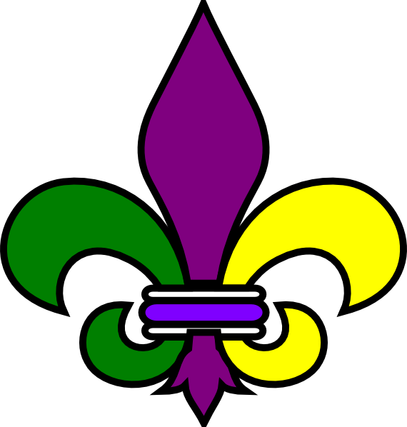 image relating to Fleur De Lis Printable known as Printable Saints Fleur De Lis Refreshing Orleans Fleur De Lis