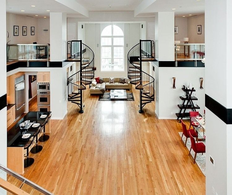 Loft Housedesign: Moderno-apartamento-tipo- Loft