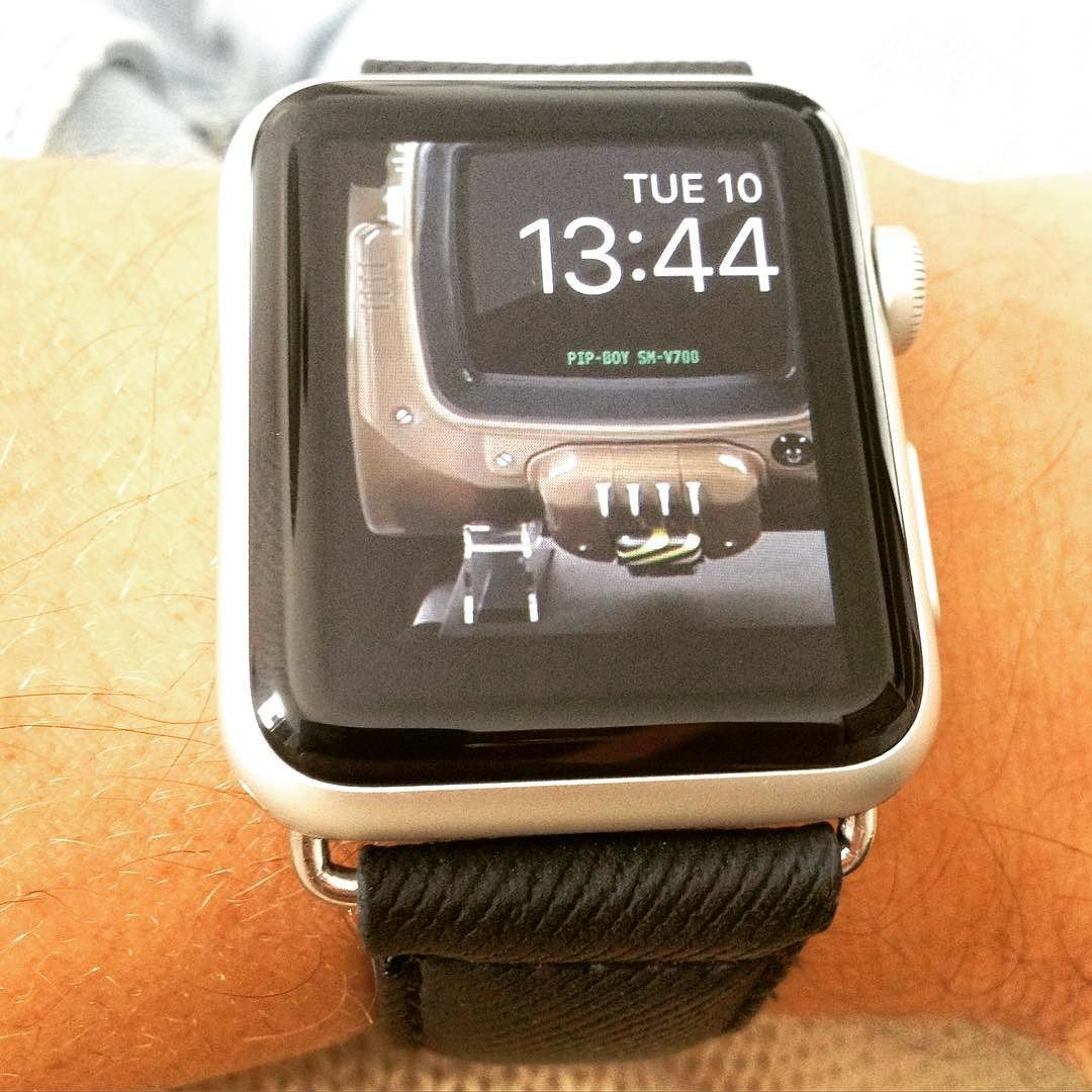Fallout 4 Pip New Apple Watch Custom face. Check website