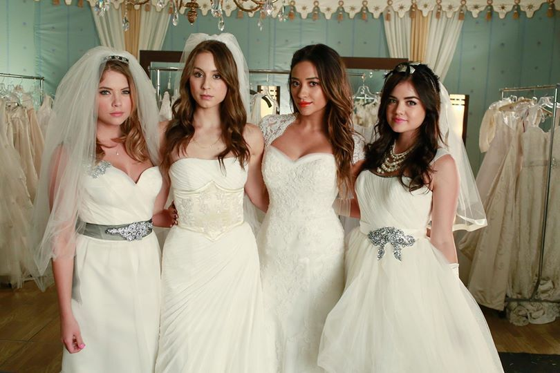 Ashley Benson, Troian Bellisario, Shay Mitchell and Lucy Hale / Hanna Marin, Spencer Hastings, Emily Fields, Aria Montgomery