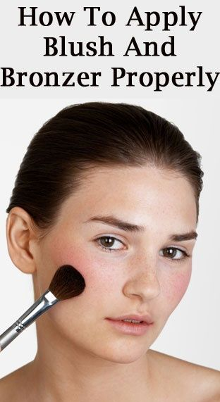 How to apply blush on a round face bronzer blush and how to how to apply blush on a round face ccuart Images