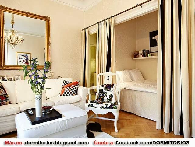 Fotos de decoraciones monoambiente apartamentos peque os for Decoraciones para apartamentos