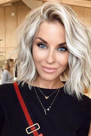 20 Short Blonde Hairstyles to Bring Straight to th