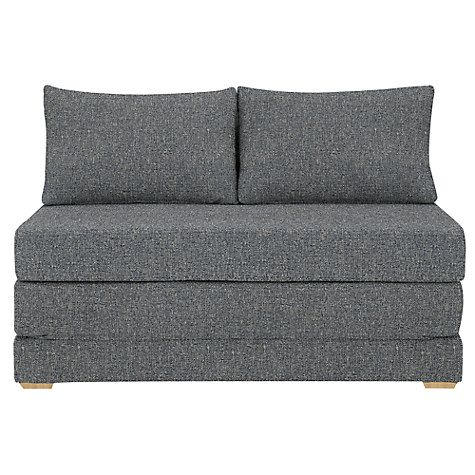 Magnificent John Lewis Kip Small Sofa Bed Riley Nordic Blue In 2019 Ibusinesslaw Wood Chair Design Ideas Ibusinesslaworg