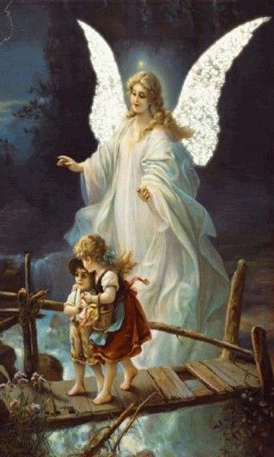 Guardian Angel Live Wallpaper Guardian Angel Pictures Angel Painting Angel Wallpaper