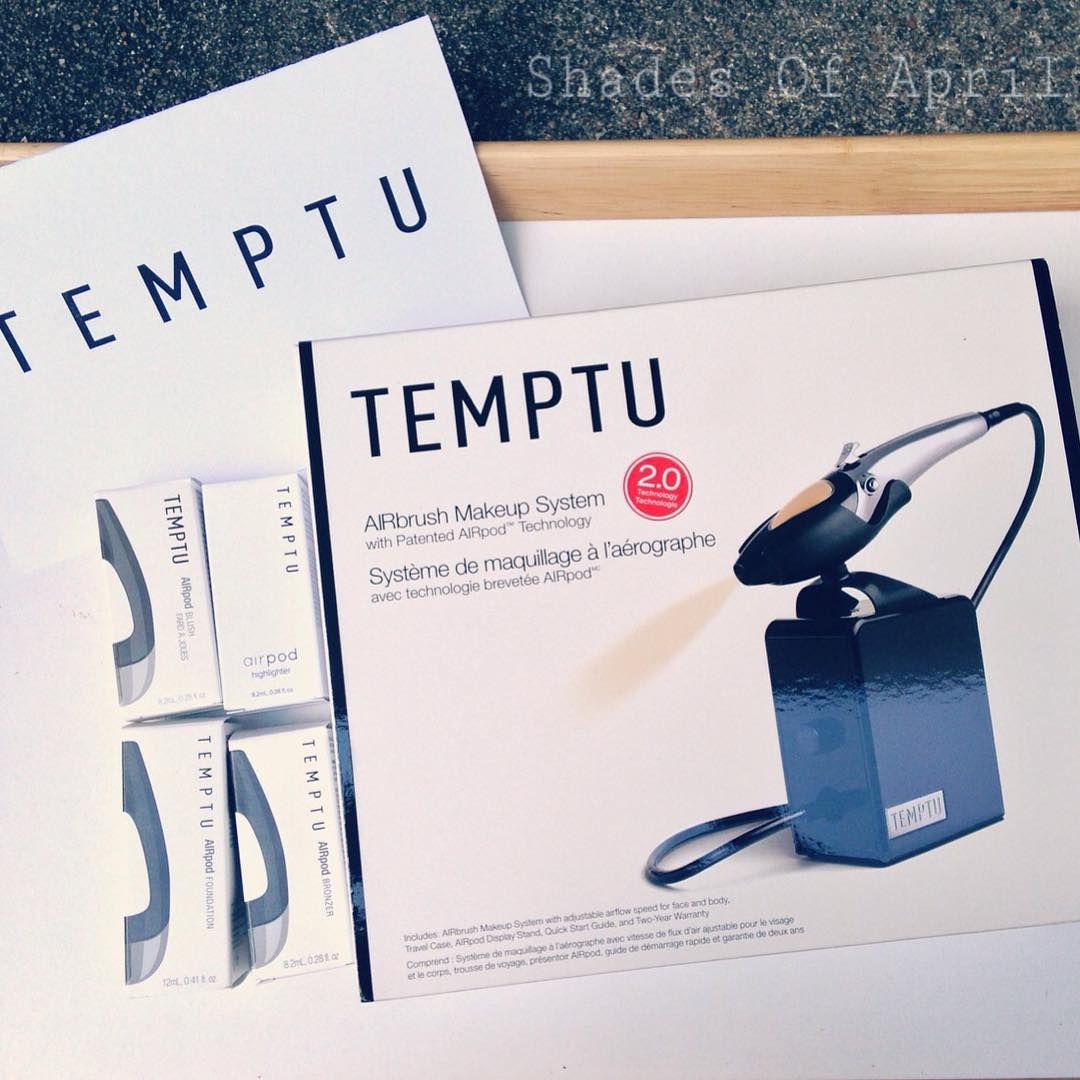 Temptu Airbrush Makeup Kit (With images) Airbrush makeup
