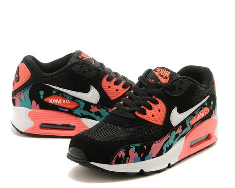 new concept 7629d fe457 Official Nike Air Max 90 Womens Watermelon Red Running Shoe 100% Guarantee  - $54.82 | nike shoes | Scoop.it