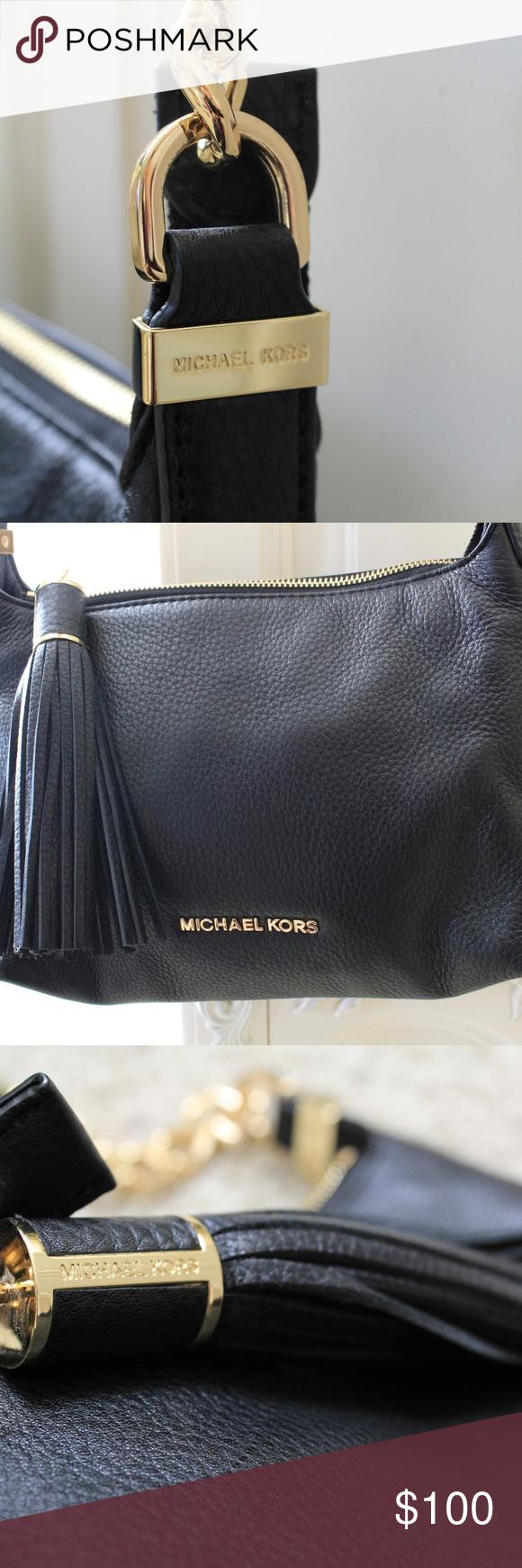 81fa994a5352 Michael Kors Weston Grained Leather Cross-Body Bag Michael Kors grained  leather cross-body