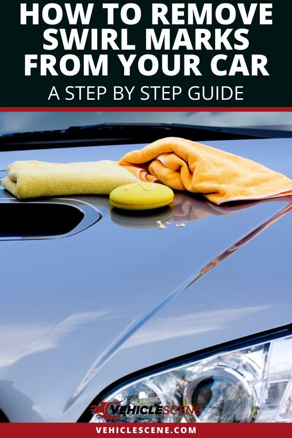After repeated washes, your car's paint will be covered in swirl marks. How do you remove them? Is it a hard job? NO! Anybody can do it and we detail the steps in our guide. #carmaintenance #cartips #vehiclecare #vehiclehowto #carexterior #autodetailing