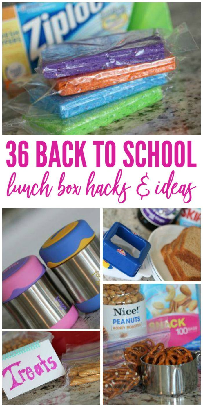 Lunchbox Hacks | 36 Amazing Tricks for School Lunches