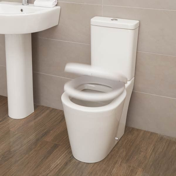 The Ravenna Toilet with Soft Close seat is a stunning feature in the ...