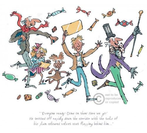 Roald Dahl & Quentin Blake - Charlie and the Chocolate Factory | + ...