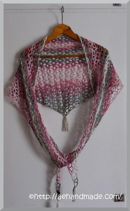 Virka en sjal. Alltså 5cb371f037d04