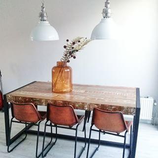 Verwonderend Rough stoelen van Be pure home (met afbeeldingen) | Eettafel RP-63
