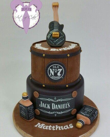 jackdaniels cake whiskey Zolys Art of Cake Pinterest Cake