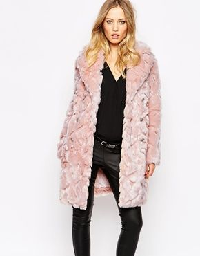Mi nuevo abrigo!!!!Abrigo de piel sintética Offspring de Supertrash ... 5f13a6ab99a2