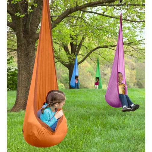 HearthSong HugglePod Lite Chair Hammock, Nylon in