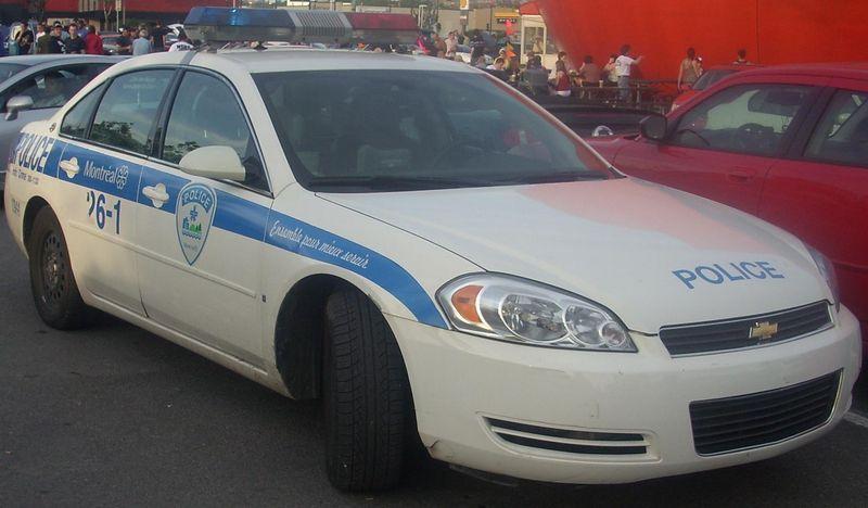 L Evolution Des Autos De Police A Montreal Police Cars Police