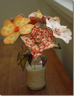 Como fazer flores de tecido com retalhos | Vila do Artesão