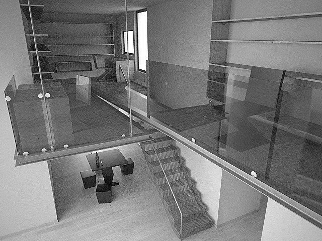 Soppalco sospeso Stairs, Flooring, Home decor