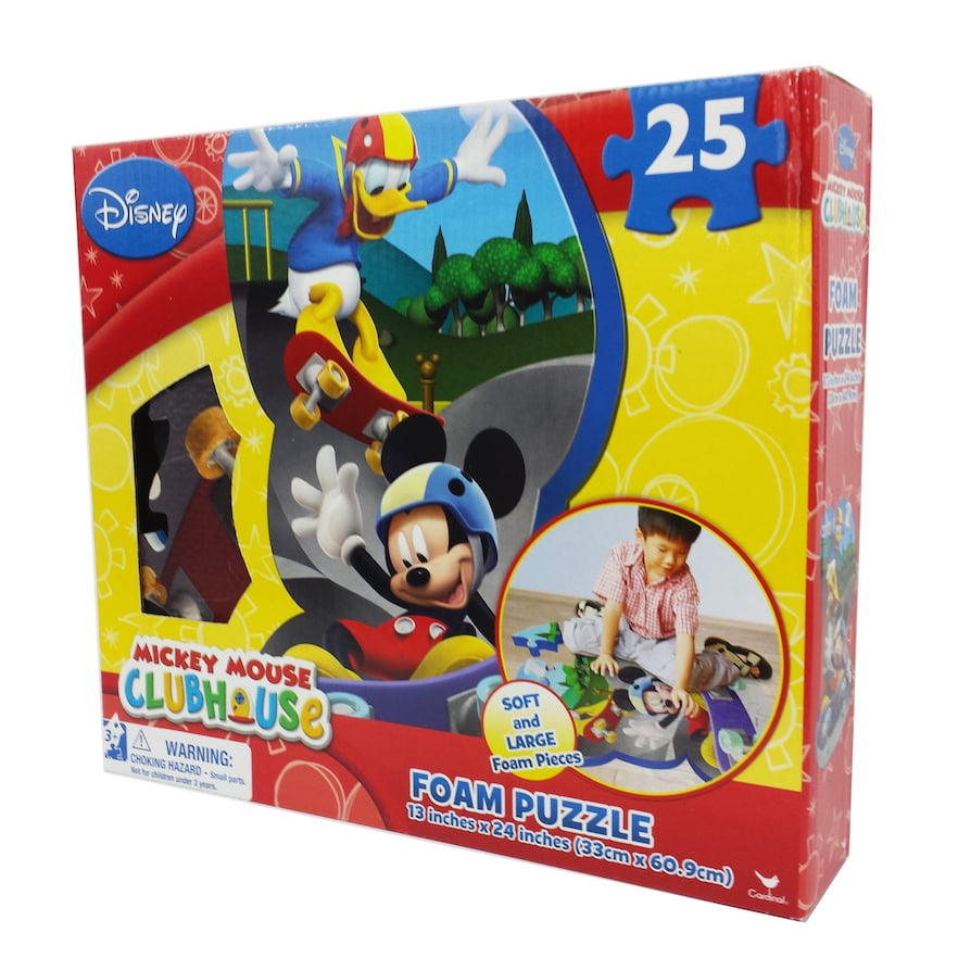 cfbad18d418 Disney Mickey Mouse Clubhouse 25-pc. Foam Floor Puzzle by Cardinal ...