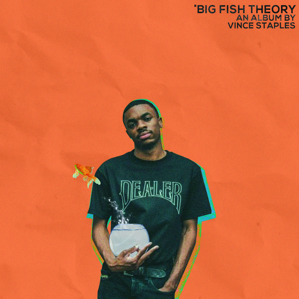 Big Fish Theory Vince Staples Concept Art Vince Staples Big Fish Staples