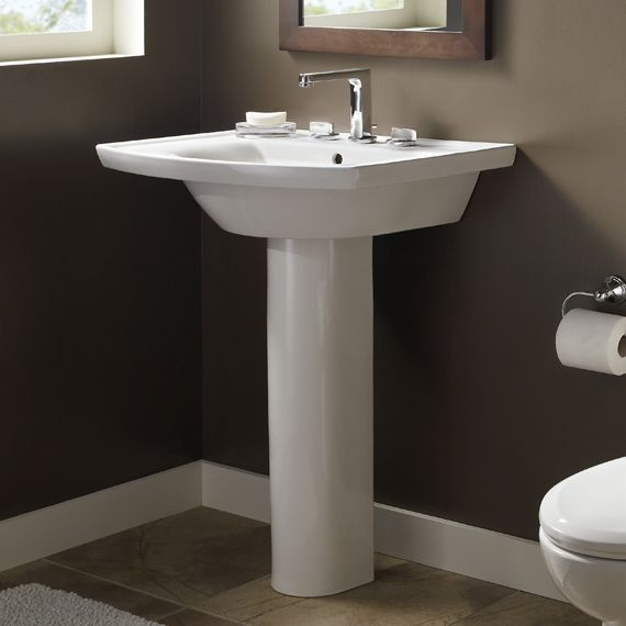 captivating pedestal sink bathroom design ideas with american standard tropic grande pedestal sink decorating in small - Pedestal Sink Bathroom Design Ideas