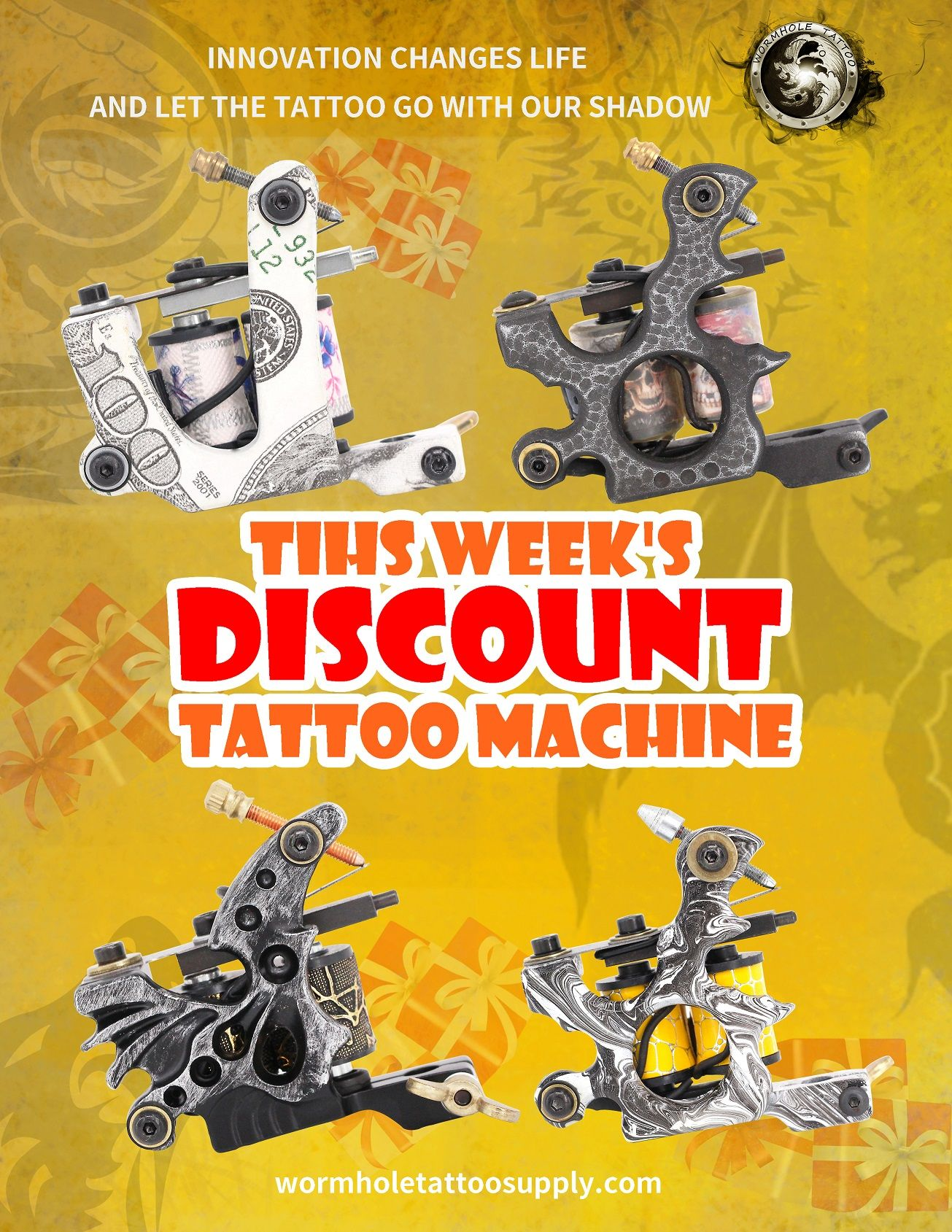 High quality tattoo coils machine for lining and shading