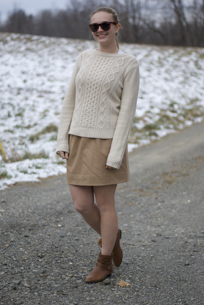 Neutral monochrome is such a fun style! Especially when J.Crew is involved.