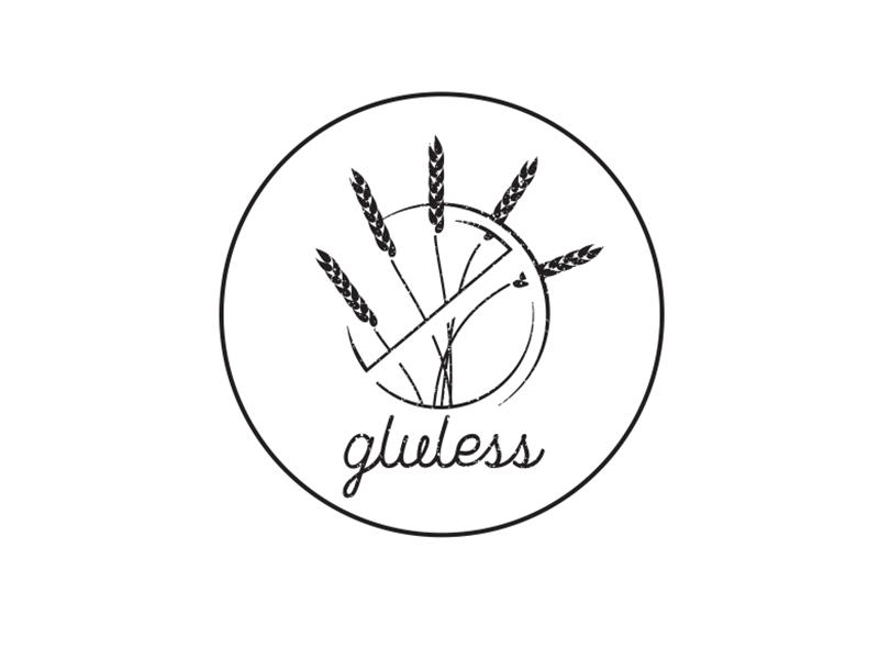 Gluless Gluten Free Bakery Logo Bakery Logo Gluten Free Bakery Gluten Free Logo