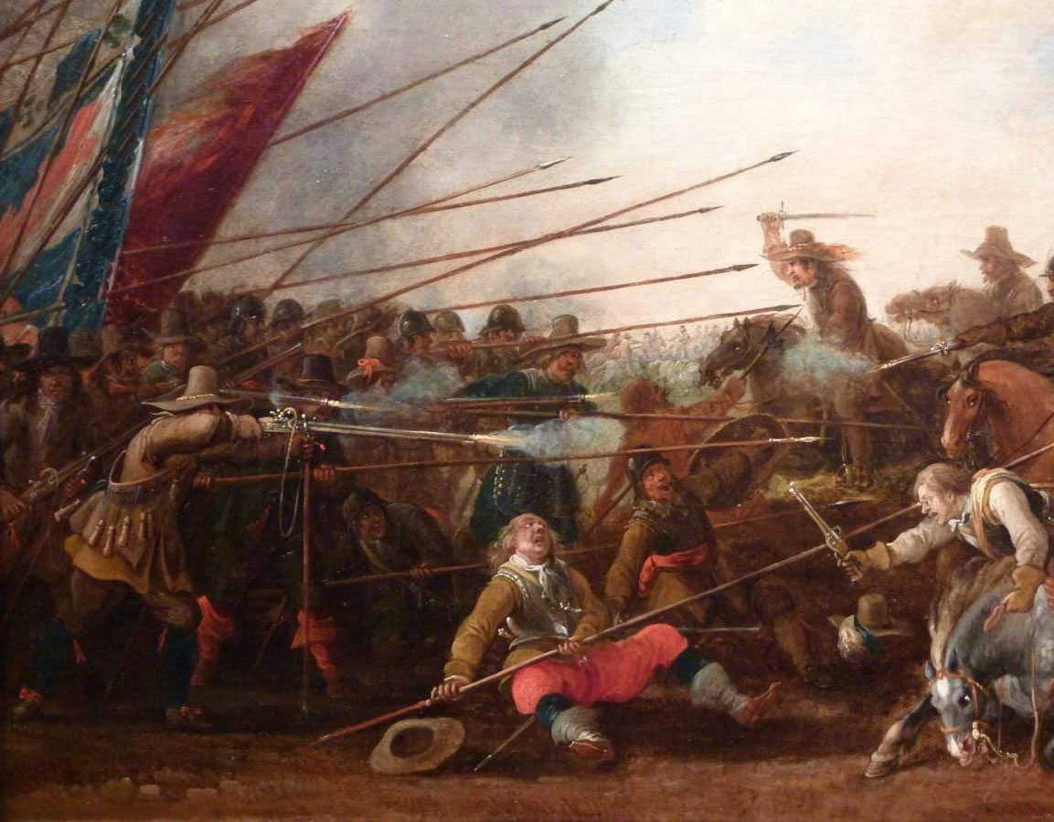 Second Battle Of Newbury 27th October During The