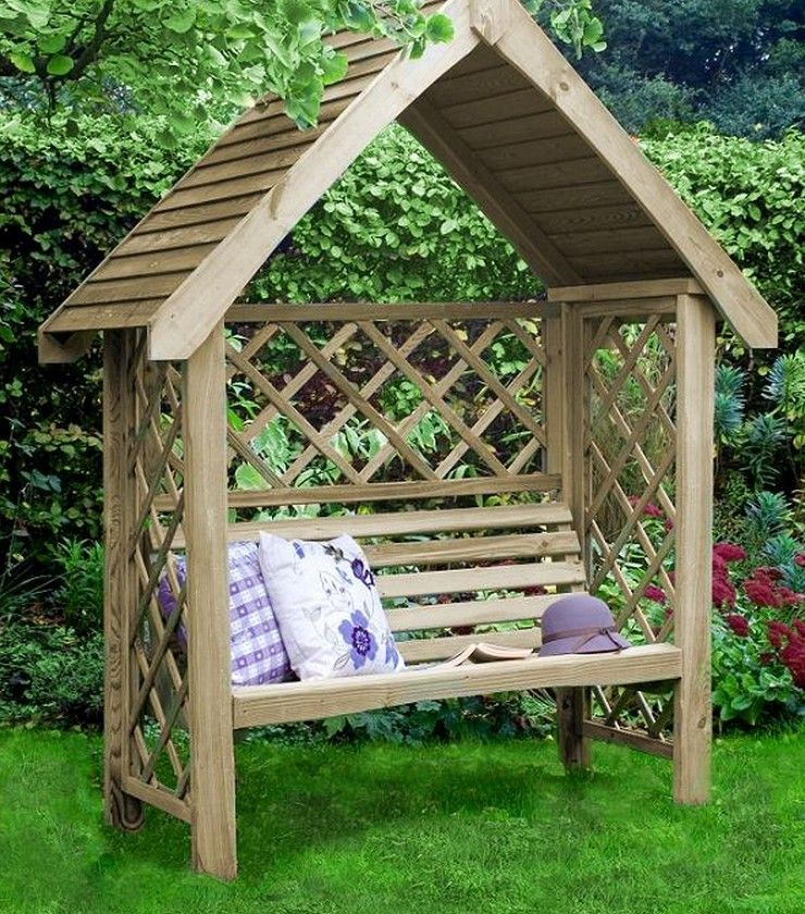 pergolas bois oxford est une pergola avec banc fabriqu e avec le plus grand soin en bois trait. Black Bedroom Furniture Sets. Home Design Ideas