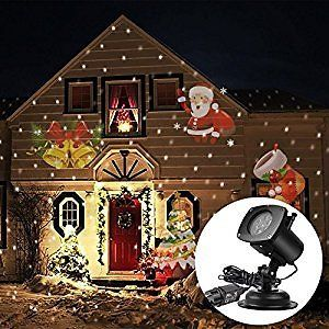 ARINO Holiday Light Projector Image Motion Projection for Outdoor Indoor in Christmas Halloween : Patio Lawn & Garden