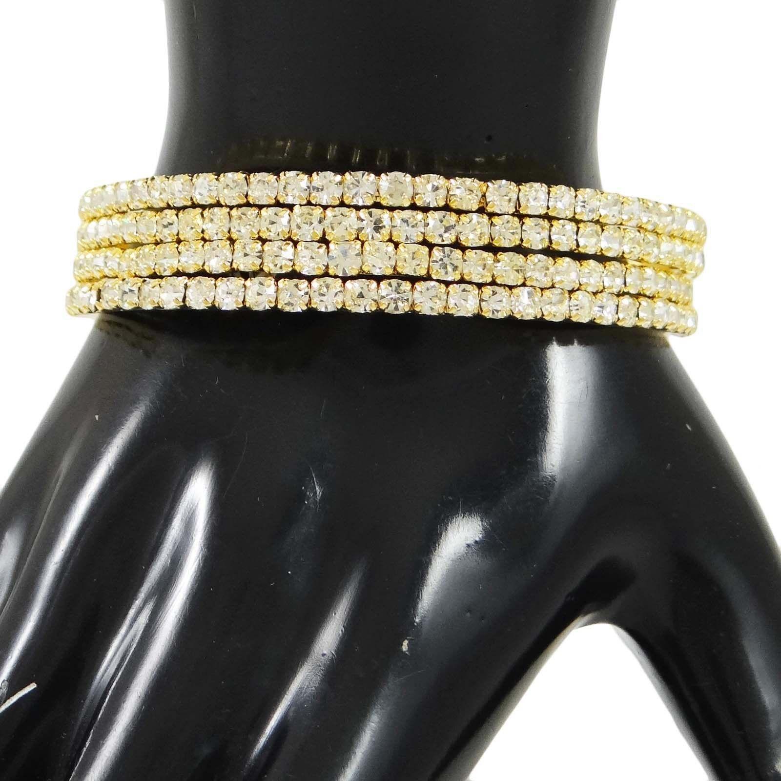 Ad stone bangles kada set traditional jewellery bollywood designer