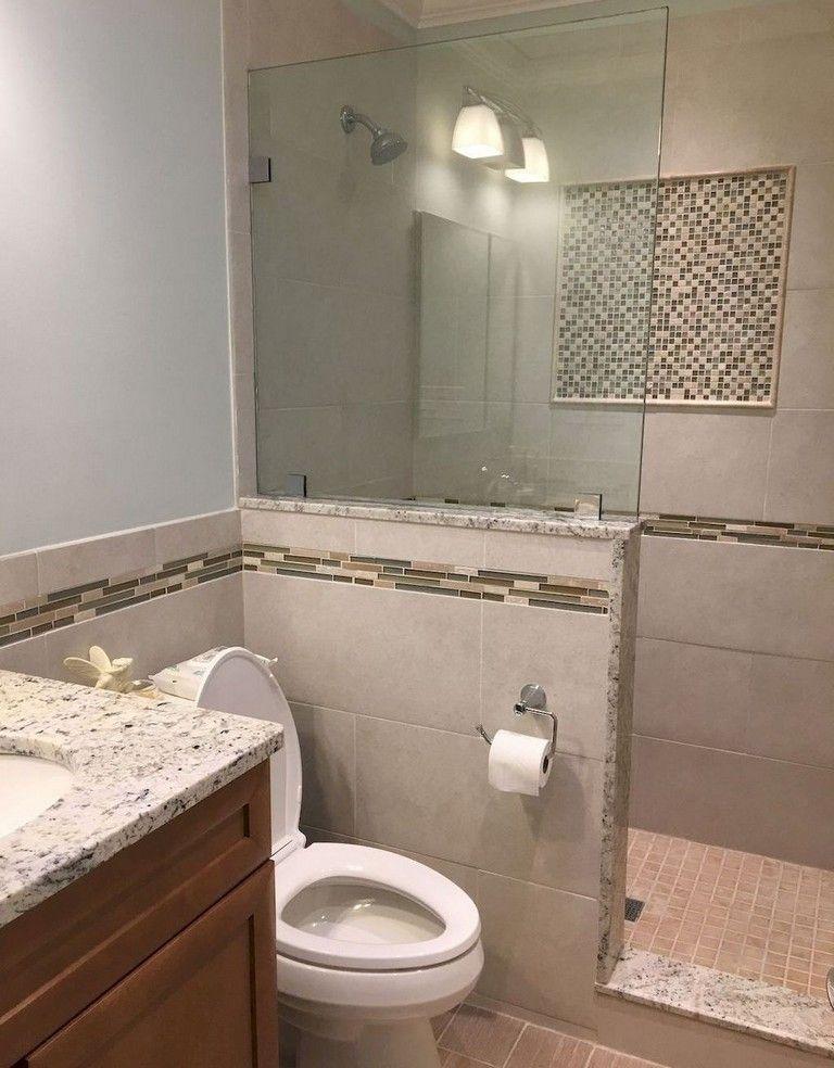 78 Lovely Bathroom Shower Remodel Ideas Small Bathroom With Shower Bathroom Remodel Shower Small Bathroom Inspiration