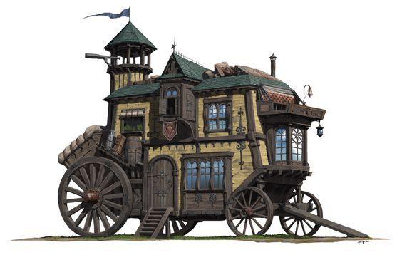 https i pinimg com 564x c7 0d 26 c70d26db7ab1d4cb8709154908e15d3d fantasy wagon concept art jpg